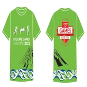 2021 North Island Colgate Games T-Shirt (sizes 8 to 12)